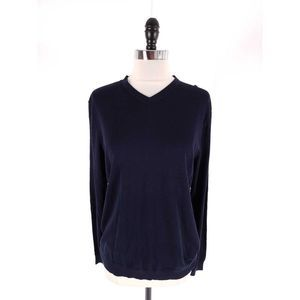COS Jersey Knit Banded Hem Pullover Knit Top